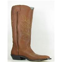Olathe Boots:Vamp Brown Mule