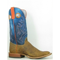 Olathe Boots:Vamp Distressed Bison