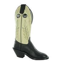 Olathe Boots:Vamp Black Mule