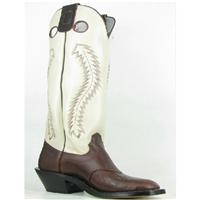 Olathe Boots:Vamp Chocolate Horse