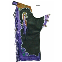 Super Pro Rough Stock Custom Pro Rodeo Chaps