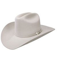 Resistol Midnight 4X Cowboy Hat in Silver