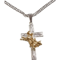 Rodeo Event Cross Necklace