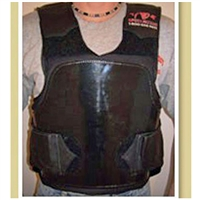 TK Pro Leather Trimmed Rodeo Vest