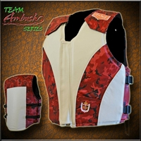 Camo Curved Rodeo Vest by Ride Right