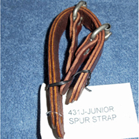 Junior Roughstock Spur Straps