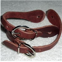 Youth Leather Spur Straps